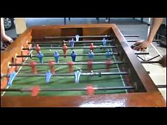 Is foosball time