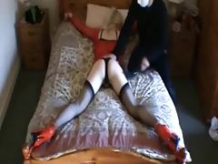 Spread and spanked 2