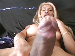 Shemale Solo Big Cock
