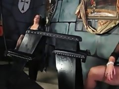 Tgirls & Alura J bdsm playing with toys