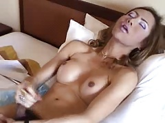Asian Ladyboy Solo