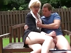 Shemale Jo Outdoor Fuck Hot