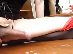 Nice Asian Shemale Compilation her Cumshots